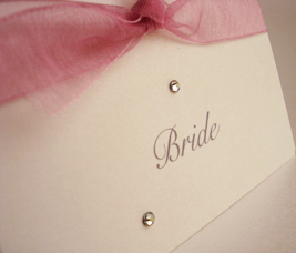 sparkle place card