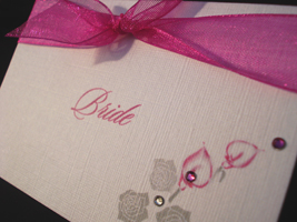 lily place card